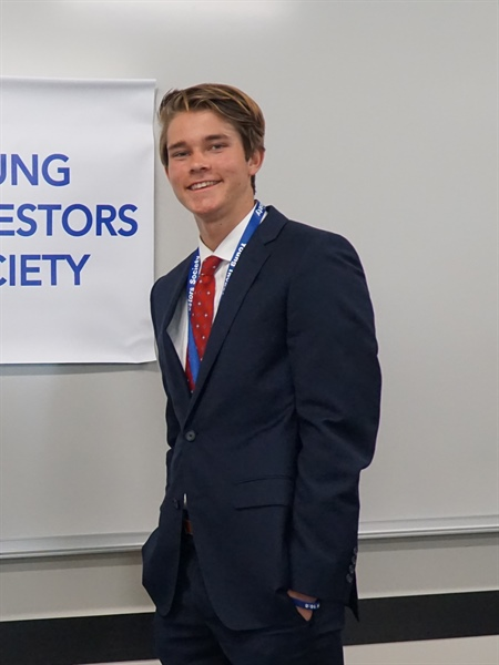 Thousand Oaks High Student Wins Young Investors Society Shark Tank Contest
