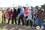 Redwood Middle Celebrates Groundbreaking Ceremony for John L. Notter Family Club