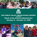 CVUSD Celebrates Week of the School Administrator