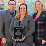 Weathersfield Elementary's Stephenie Scott Celebrated as CVUSD's October Teacher of the Month