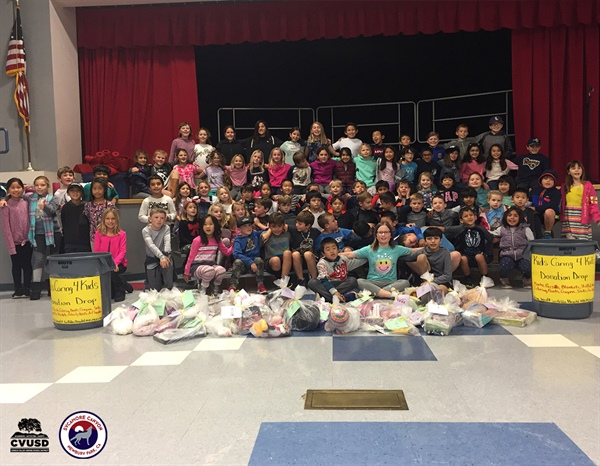 "Sycamore Canyon School's Child Care Students Host Successful ""Kids Caring for Kids"" Campaign"