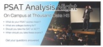 EVENT: PSAT Analysis Night