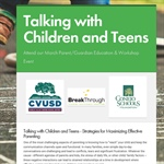 Talking with Children and Teens - Strategies for Maximizing Effective Parenting