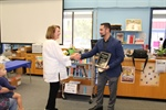Congratulations to Sequoia Middle School's Shari Bachman - CVUSD's Teacher of the Month!