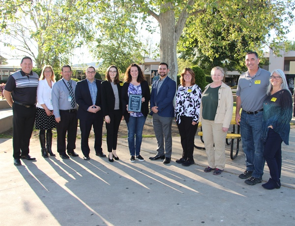 Congratulations to Newbury Park High School's Jill Magnante, CVUSD's June Teacher of the Month!