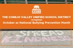 CVUSD Recognizes October as National Bullying Prevention Month
