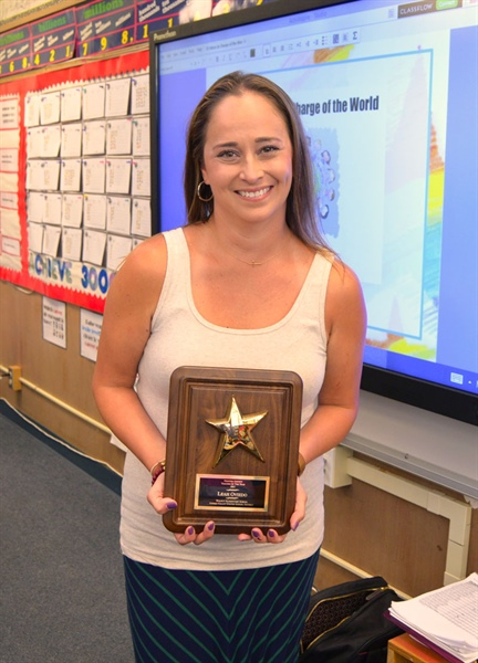 CVUSD Educator Chosen as the 2017 Ventura County Teacher of the Year
