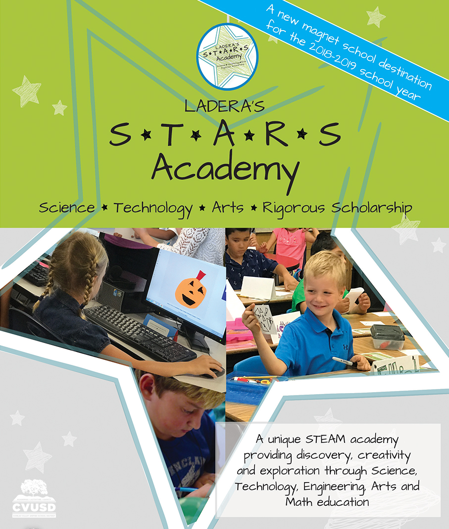 Ladera students in a star