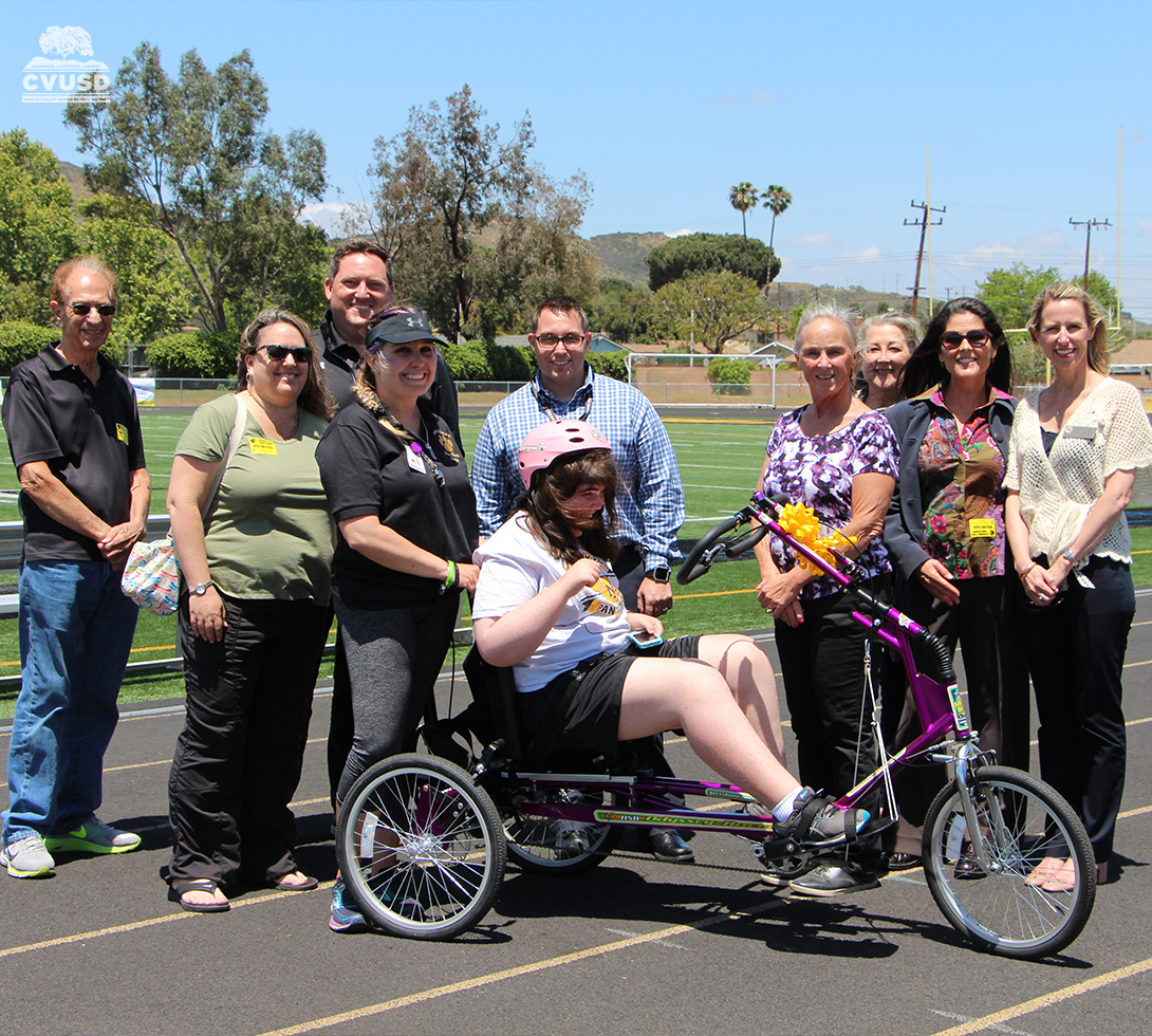 Pause4Kids and NPHS with adaptive bike