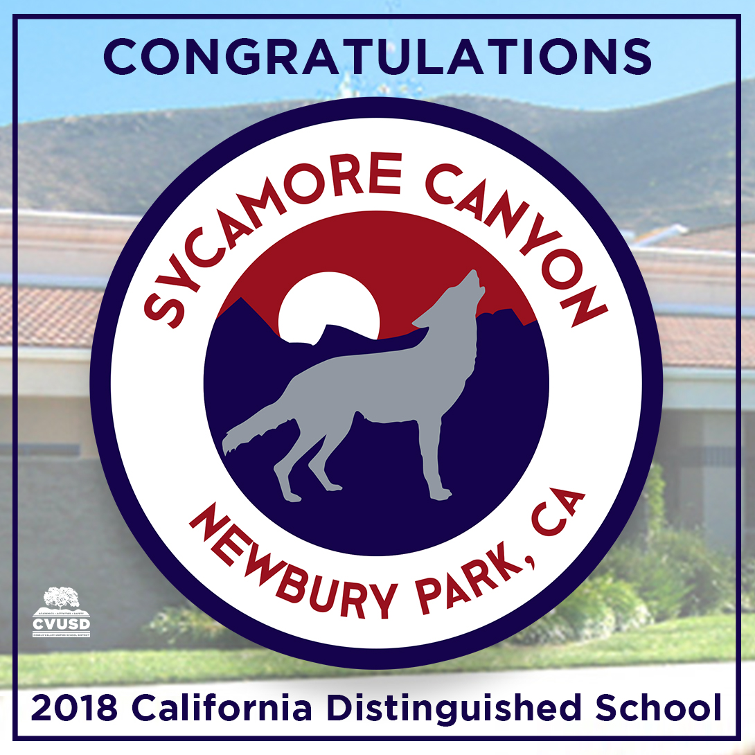 Sycamore Canyon School Congratulations banner