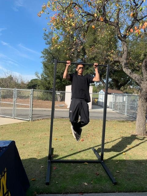 Army Pull-Up Contest Winner!