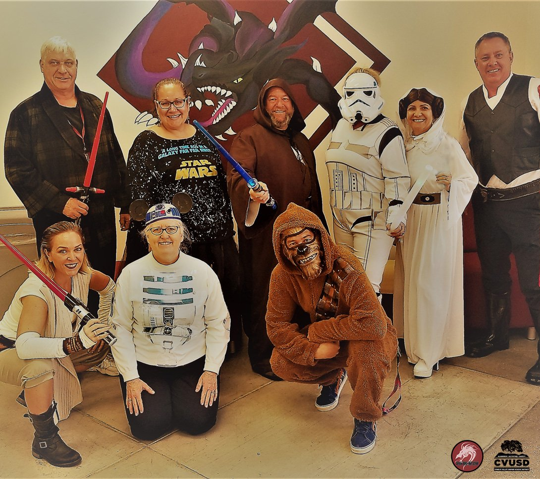 Halloween in a CVHS Galaxy far far away.