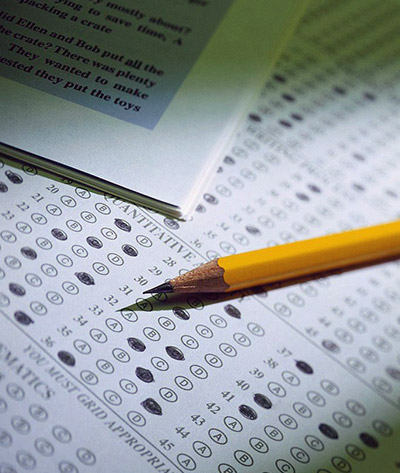 Photo of Pencil and Test